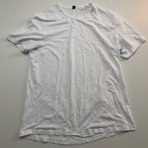 Lululemon Mens White T-shirt Large